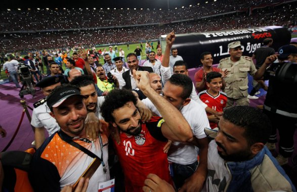 Egypt qualifies for the 2018 FIFA World Cup in Russia