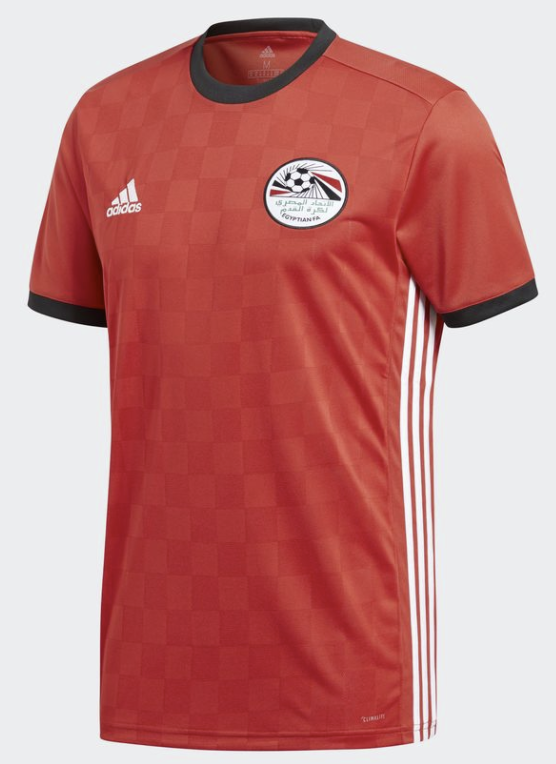 9d88b48d8 Egypt 2018 home kit. Adidas has officially unveiled Egypt s home kit for  the 2018 FIFA ...