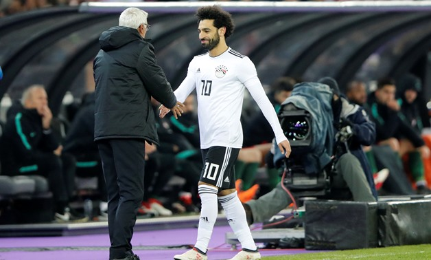 Hector Cuper and Mohamed Salah